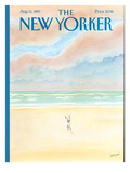 The New Yorker Cover - August 11, 1997 Regular Giclee Print by Jean-Jacques Sempé