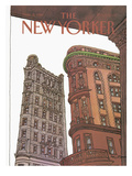 The New Yorker Cover - November 9, 1981 Premium Giclee Print by Roxie Munro