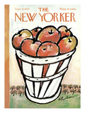 The New Yorker Cover - September 30, 1967 Premium Giclee Print by Abe Birnbaum