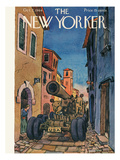The New Yorker Cover - October 7, 1944 Premium Giclee Print by Alan Dunn