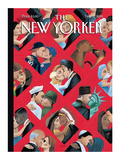 The New Yorker Cover - February 14, 2000 Premium Giclee Print by Mark Ulriksen