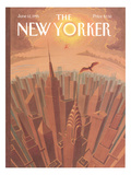 The New Yorker Cover - June 12, 1995 Premium Giclee Print by Eric Drooker