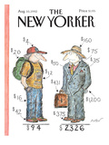 The New Yorker Cover - August 10, 1992 Regular Giclee Print by Edward Koren
