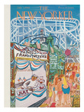 The New Yorker Cover - July 3, 1948 Regular Giclee Print by Ludwig Bemelmans