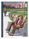 The New Yorker Cover - May 6, 1944 Premium Giclee Print by Peter Arno