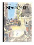 The New Yorker Cover - October 12, 1998 Regular Giclee Print by Jean-Jacques Sempé