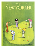 The New Yorker Cover - August 17, 1987 Regular Giclee Print by Charles Saxon