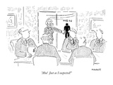 """Aha!  Just as I suspected!"" - New Yorker Cartoon Premium Giclee Print by Robert Mankoff"