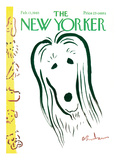 The New Yorker Cover - February 13, 1965 Premium Giclee Print by Abe Birnbaum