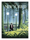 The New Yorker Cover - August 5, 2002 Premium Giclee Print by Eric Drooker