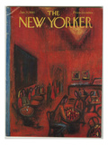 The New Yorker Cover - January 21, 1961 Premium Giclee Print by Robert Kraus