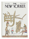 The New Yorker Cover - October 12, 1963 Premium Giclee Print by Saul Steinberg