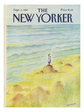 The New Yorker Cover - September 7, 1981 Regular Giclee Print by Jean-Jacques Sempé