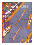 The New Yorker Cover - June 25, 1927 Premium Giclee Print by Ilonka Karasz