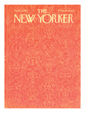 The New Yorker Cover - April 3, 1965 Premium Giclee Print by Anatol Kovarsky