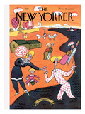 The New Yorker Cover - August 4, 1928 Premium Giclee Print by Julian de Miskey
