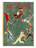 The New Yorker Cover - May 25, 1935 Premium Giclee Print by Constantin Alajalov