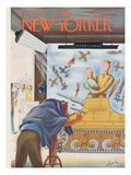 The New Yorker Cover - July 22, 1944 Premium Giclee Print by Constantin Alajalov
