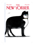 The New Yorker Cover - November 18, 1996 Regular Giclee Print by Saul Steinberg