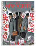 The New Yorker Cover - February 13, 1960 Regular Giclee Print by Leonard Dove