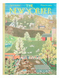The New Yorker Cover - April 29, 1961 Regular Giclee Print by Ilonka Karasz