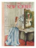 The New Yorker Cover - October 16, 1954 Regular Giclee Print by Mary Petty