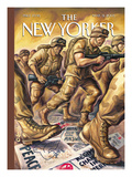 The New Yorker Cover - March 31, 2003 Regular Giclee Print by Owen Smith