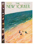 The New Yorker Cover - August 18, 1956 Regular Giclee Print by Abe Birnbaum