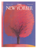 The New Yorker Cover - October 13, 1986 Regular Giclee Print by Merle Nacht