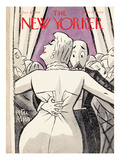 The New Yorker Cover - January 6, 1940 Premium Giclee Print by Peter Arno