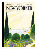The New Yorker Cover - June 7, 2004 Premium Giclee Print by Jean-Jacques Sempé