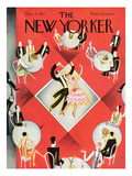 The New Yorker Cover - December 3, 1927 Premium Giclee Print by Constantin Alajalov