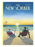 The New Yorker Cover - January 26, 1998 Regular Giclee Print by R. Sikoryak