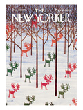 The New Yorker Cover - December 26, 1970 Regular Giclee Print by Charles E. Martin