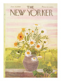 The New Yorker Cover - June 28, 1969 Premium Giclee Print by Ilonka Karasz