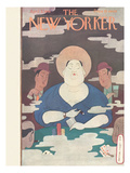 The New Yorker Cover - April 5, 1930 Premium Giclee Print by Rea Irvin