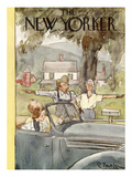 The New Yorker Cover - July 16, 1938 Premium Giclee Print by Perry Barlow