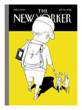 The New Yorker Cover - September 10, 2001 Premium Giclee Print by Istvan Banyai
