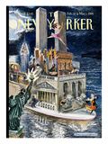 The New Yorker Cover - February 22, 1999 Regular Giclee Print by Edward Sorel