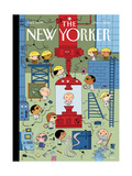 The New Yorker Cover - January 4, 2010 Regular Giclee Print by Ivan Brunetti