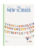 The New Yorker Cover - June 3, 1985 Regular Giclee Print by Arnie Levin
