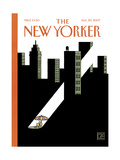 The New Yorker Cover - August 20, 2007 Regular Giclee Print by Joost Swarte