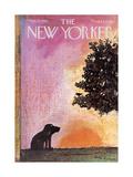 The New Yorker Cover - September 18, 1965 Regular Giclee Print by Andre Francois