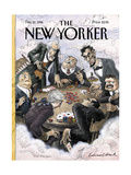 The New Yorker Cover - February 12, 1996 Regular Giclee Print by Edward Sorel