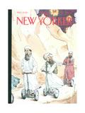 The New Yorker Cover - December 17, 2001 Regular Giclee Print by Barry Blitt