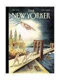 The New Yorker Cover - March 7, 2005 Regular Giclee Print by Marcellus Hall