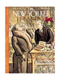 The New Yorker Cover - December 10, 1932 Regular Giclee Print by William Steig