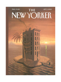 The New Yorker Cover - September 3, 2001 Regular Giclee Print by Eric Drooker