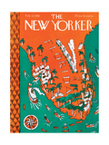 The New Yorker Cover - February 13, 1926 Giclee Print by Ilonka Karasz
