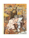 The New Yorker Cover - October 4, 1993 Regular Giclee Print by Edward Sorel